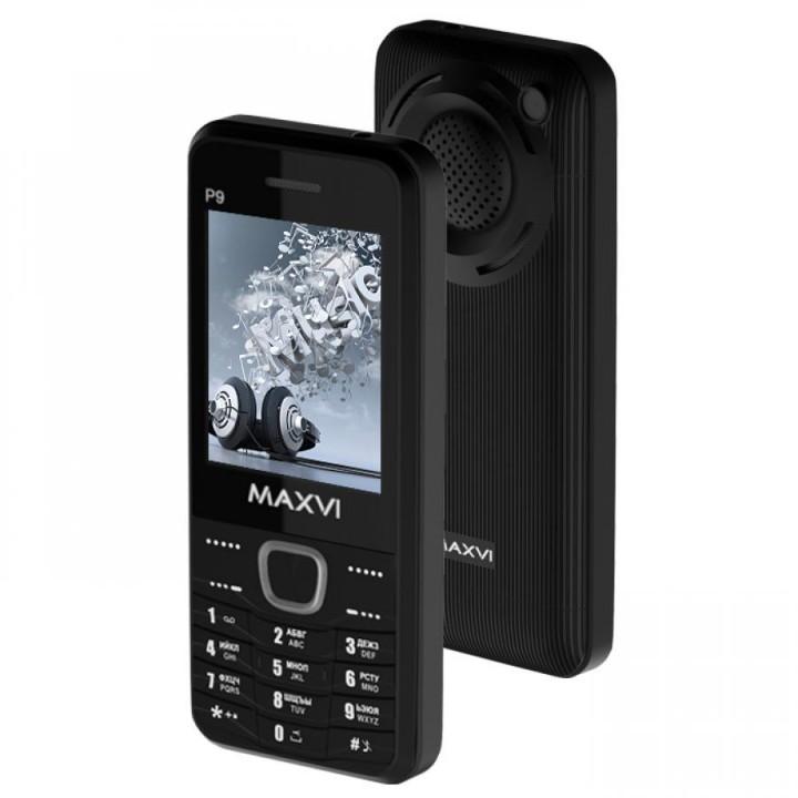 Сотовый телефон Maxvi P9 Black